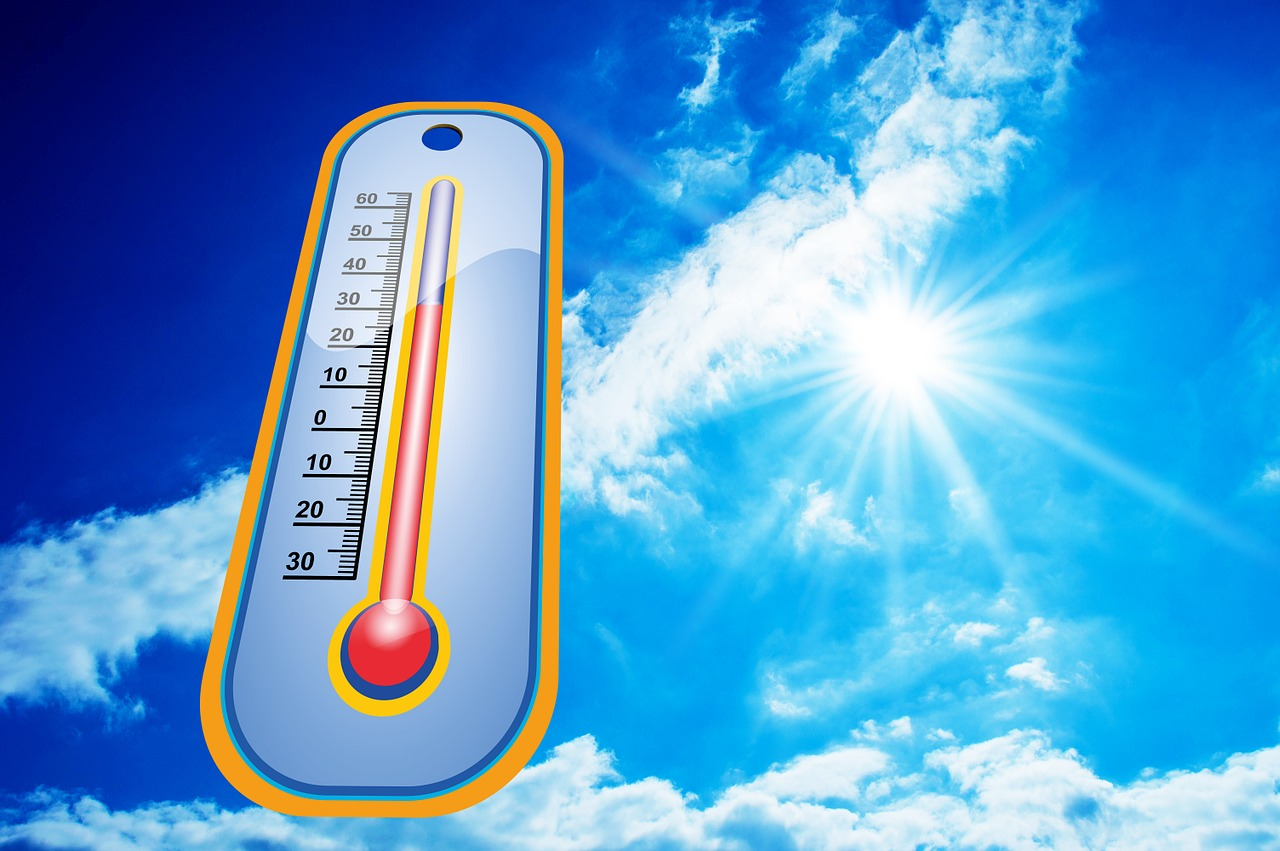 heat hot thermometer